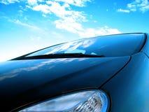 汽车前面 免版税库存图片