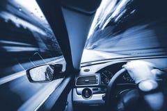 汽车加速的概念 免版税库存图片