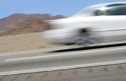 汽车加速 图库摄影
