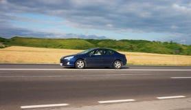 汽车加速 免版税图库摄影