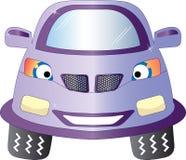 汽车动画片模式无缝的向量 免版税库存图片