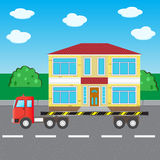 汽车卡车运输2 免版税库存图片
