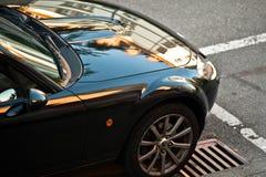 汽车反映 图库摄影
