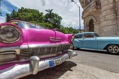 汽车古巴 免版税库存照片