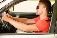汽车司机轮子 免版税图库摄影
