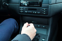 汽车司机 免版税库存图片