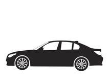 汽车向量 免版税库存照片