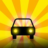 汽车向量 免版税图库摄影