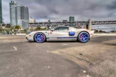 汽车和咖啡旧金山#2 HDR 免版税库存照片
