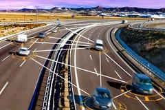 汽车和技术 免版税库存照片