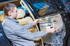 汽车噪声保护和振动减少 免版税库存图片