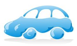 汽车图标洗涤 免版税库存照片