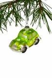 汽车圣诞节 图库摄影