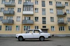 汽车在俄罗斯 库存照片