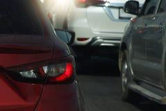 汽车堵塞公路交通 库存照片