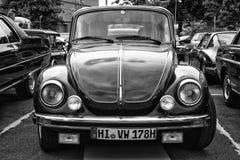 汽车大众甲壳虫(黑白) 库存图片
