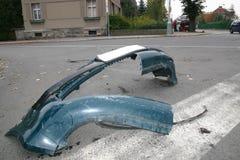 汽车失事了 免版税库存照片
