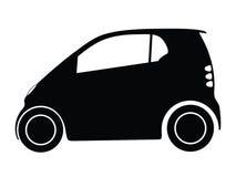 汽车小的向量 免版税库存图片