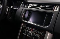 汽车屏幕多媒体系统 图库摄影