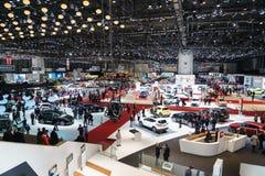 汽车展示会吉恩威2015年 免版税库存照片