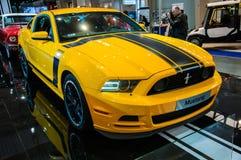 汽车展示会波兹南2014年 免版税库存照片