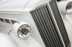 汽车幅射器白色 库存图片