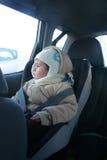 汽车座位的婴孩安全的 库存图片
