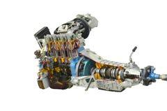 汽车引擎 免版税图库摄影