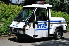 汽车微型警察 库存图片