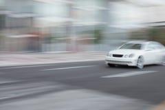 汽车快速加速 库存图片