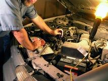 汽车技术人员 库存照片