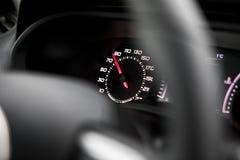 汽车控制台控制板电子仪器航海 图库摄影