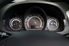 汽车控制面板 免版税库存照片