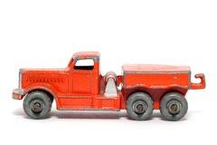汽车搬家工人老头等玩具 免版税库存图片