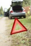 汽车故障失败的汽车 免版税库存图片