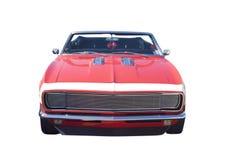 汽车敞篷车肌肉红色 免版税库存照片