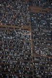 汽车新的停车 免版税库存图片