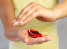 汽车新的符号 免版税库存图片