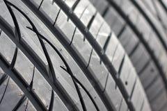 汽车新的轮胎 免版税库存图片