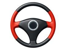 汽车方向盘 免版税库存照片