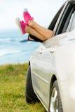 汽车旅行自由和放松 免版税库存照片
