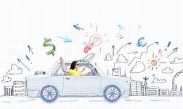 汽车旅行 免版税库存照片