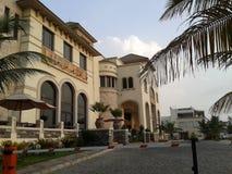 汽车旅馆在吉达 免版税库存照片