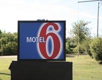 汽车旅馆6 库存照片