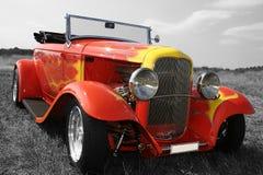汽车旧车改装的高速马力汽车 库存照片