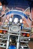 汽车是tuktuk,经典之作 库存照片