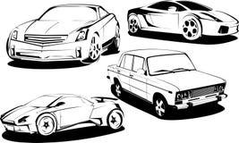 汽车有名望的体育运动 免版税库存照片