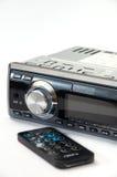 汽车有红外线遥控的MP3播放器 库存照片