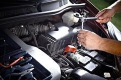 汽车机械师。 免版税库存图片