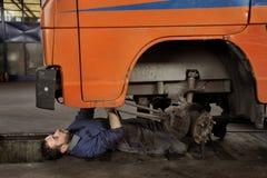 汽车机械师 免版税库存照片